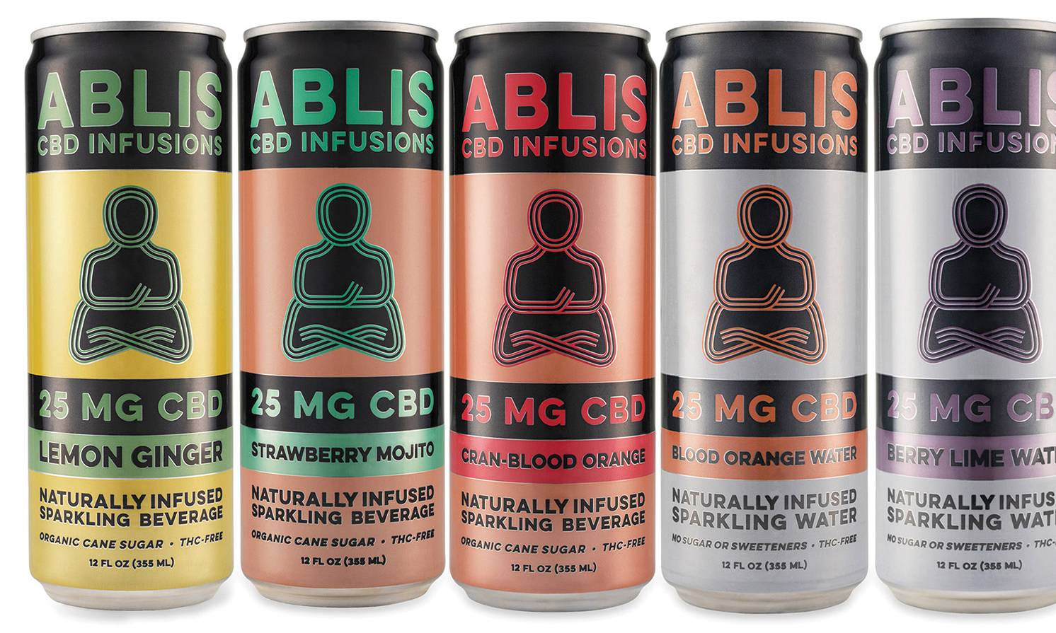 Ablis CBD Infusions, sparkling water